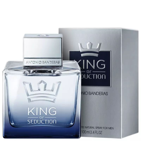 King of Seduction Eau de Toilette Antonio Banderas 100ml - Perfume Masculino