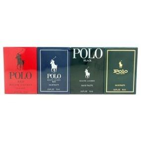 Kit 4 Perfumes Polo Ralph Lauren Eau De Toilette 15ml Mini
