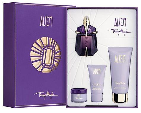 Kit Alien Mugler Eau de Parfum 30ml + Body Lotion 100ml + Gel de Banho 30ml + Creme 30ml - Feminino