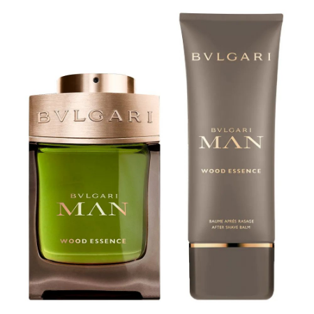 Kit Bvlgari Man Wood Essence Eau de Parfum 100ml + Bálsamo Pós Barba 100ml + Nécessaire - Masculino