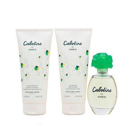 Kit Cabotine de Grès Eau de Toilette 100ML + Body Lotion 200ML + Shower Gel 200ML - Feminino
