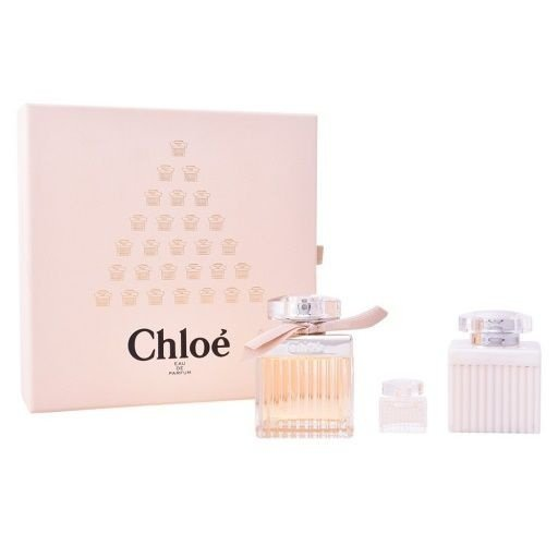 Kit Chloé Eau de Parfum 75ml + Body Lotion 100ml + Miniatura 5ml - Feminino