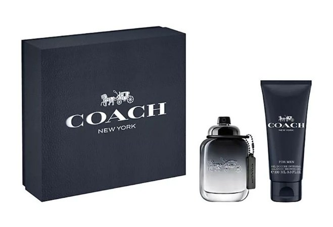 Kit Coach Eau de Toilette 60ML + Gel de Banho 100ML - Masculino