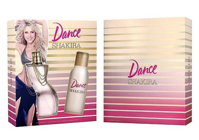 Kit Dance Shakira Eau de Toilette 80ML + Desodorante 150ML - Feminino