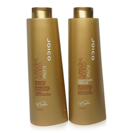 Kit Joico K-Pak Color Therapy - Shampoo + Condicionador 1 litro Cada
