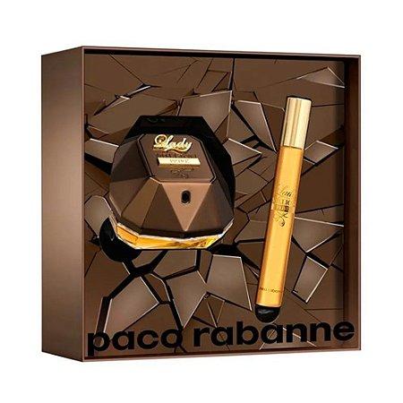 Kit Lady Million Prive Paco Rabanne Eau de Parfum 50ml + Miniatura 10ml - Feminino