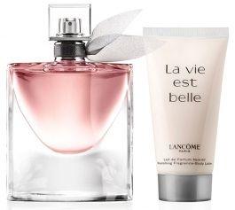 Kit La Vie Est Belle Travel Exclusive L'eau de Parfum Lancôme - 50ML + Body Lotion 50ML