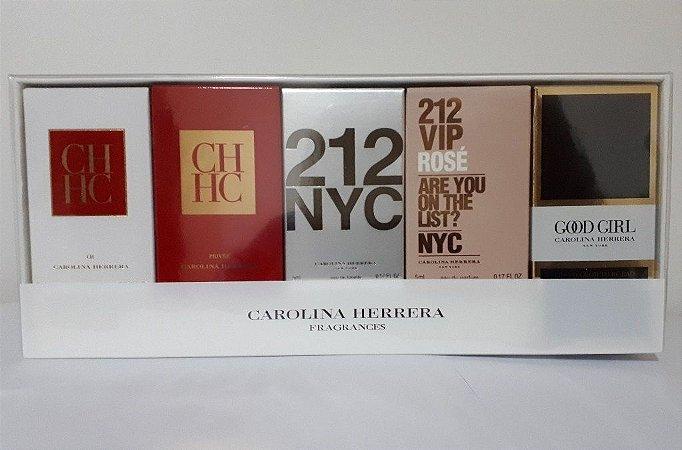 Kit Miniaturas Carolina Herrera - Perfumes Femininos