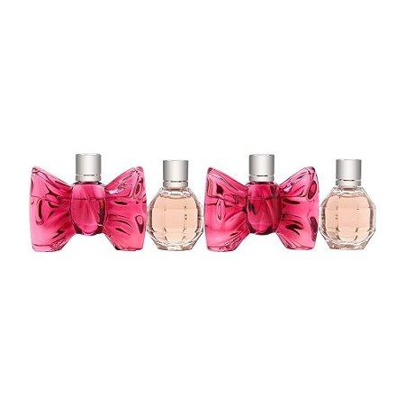 Kit Miniaturas Flowerbomb Eau de Parfum 7ml + Bonbon Eau de Parfum 7ml Viktor & Rolf - Feminino