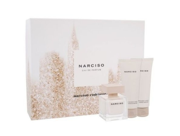 Kit Narciso by Narciso Rodrigues Eau de Parfum 50ml + Shower Cream 75ml + Body Lotion 75ml