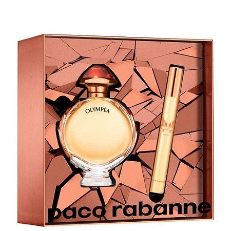 Kit Olympéa Intense Paco Rabanne Eau de Parfum 50ml + Miniatura 10ml - Feminino