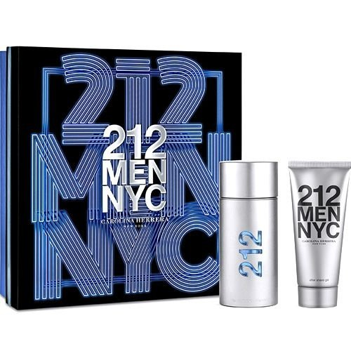 Kit Perfume 212 Men EDT 100ml + After Shave 100ml Masculino Carolina Herrera