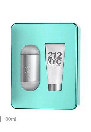 Kit Perfume 212 NYC Carolina Herrera 100ml + Hidratante de 100ml - Feminino