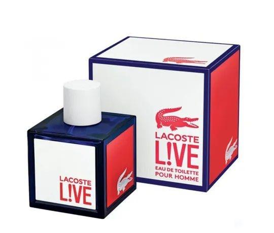 Live Eau de Toilette Lacoste 100ml - Perfume Masculino