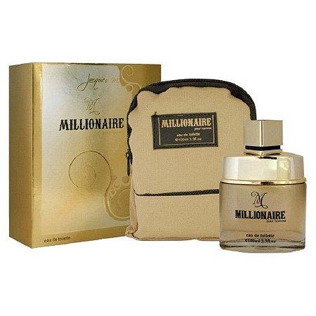 Millionaire Eau de Toilette Jacques M. 100ml - Perfume Masculino