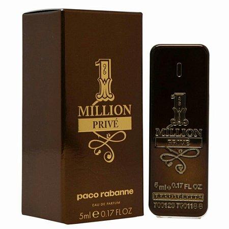 Miniatura 1 Million Privé Eau de Parfum  Paco Rabanne 5ml - Perfume Masculino