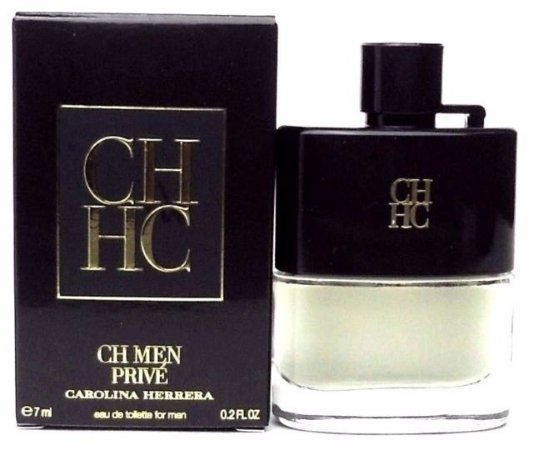 Miniatura CH Men Privé Eau de Toilette Carolina Herrera 7ML - Perfume Masculino