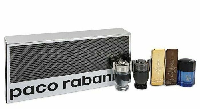 Paco Rabanne Special Travel Edition 5 Miniaturas 5ml Cada