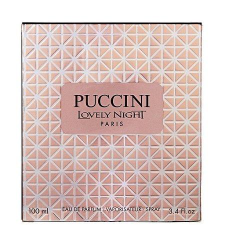 Puccini Lovely Pink Eau de Parfum 100ml - Perfume Feminino