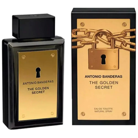 The Golden Secret Antonio Banderas Eau de Toilette 30ml - Perfume Masculino