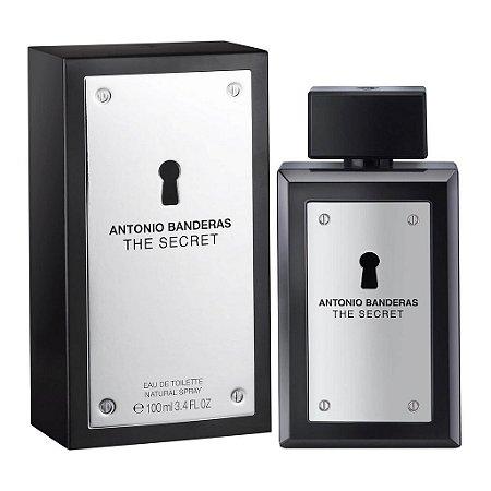 The Secret Eau de Toilette Antonio Banderas 100ml - Perfume Masculino