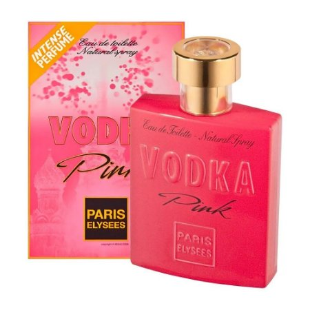 Vodka Pink Paris Elysees Eau de Toilette 100ml - Perfume Feminino