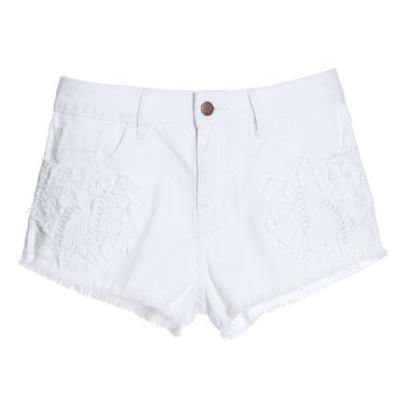 SHORTS JEANS WHITE BORDADO