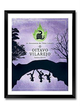Poster A4 - O Oitavo Vilarejo (sem moldura) impressão laser papel couchê 200gr. a cores