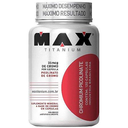 Picolinato de Cromo (60 Capsulas) - Max Titanium