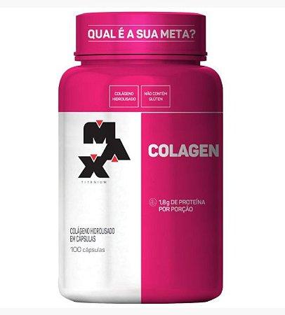 Colageno (100 Capsulas) - Max Titanium