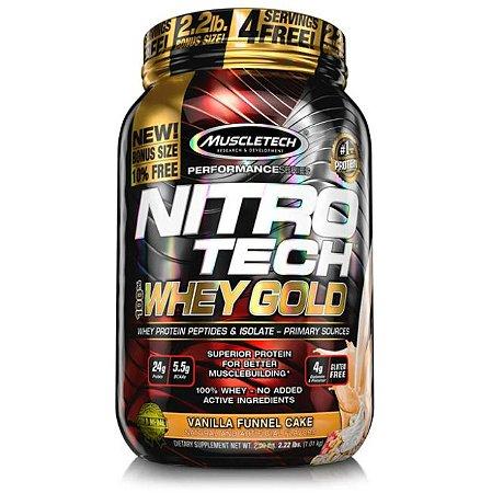 Nitro Tech Whey Gold - Muscletech