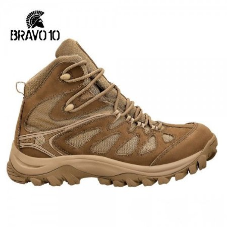 BOTA TÁTICA ADVENTURE HIKING BOOT- BRAVO 10 Coyote 5700-35