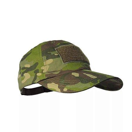 Boné Tático Militar Camuflado Tropical Airsoft - Policial
