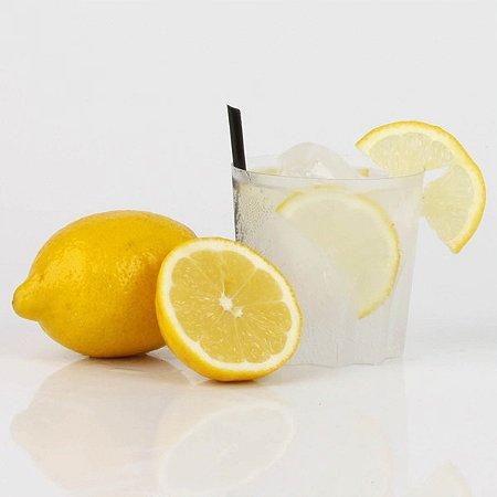 Canudo Curto Para Drink - Branco e vermelho