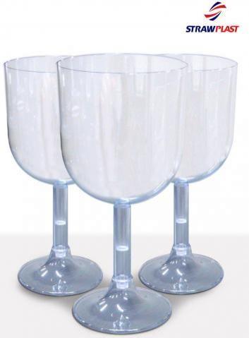 Taça Vinho 260ml - Cristal (4 unidades)