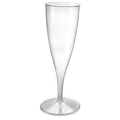 Taça Para Champagne Transparente- 125ml