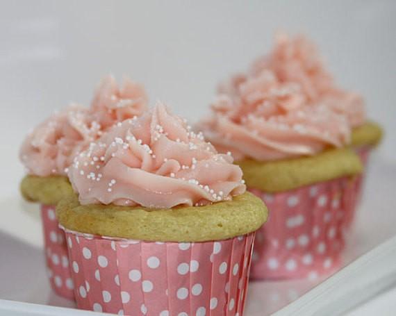 Copinho Para Cupcake Forneável- Rosa