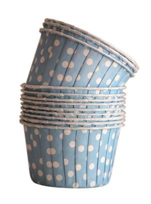 Copinho Para Cupcake Forneável - Azul (SEM TAMPA)