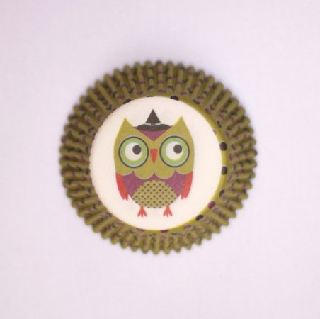 Forminha Cupcake - Corujinha