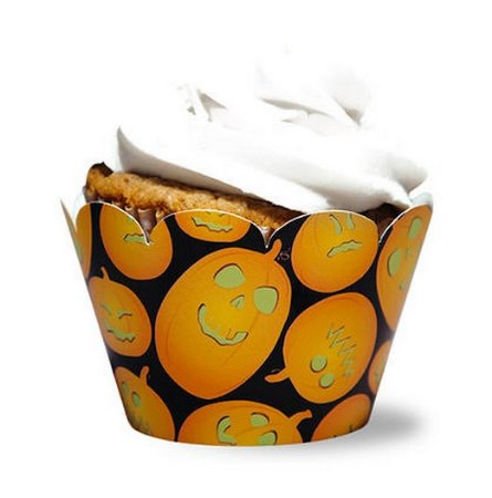 Wrapper Pumpkin Fluor - Brilha No Escuro