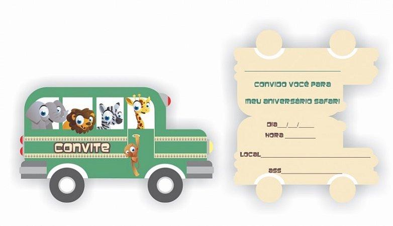 Convite - Safari (8 unidades)
