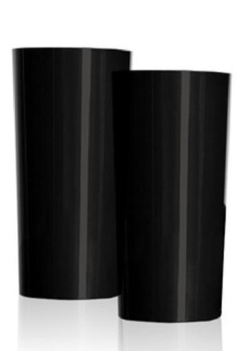 Copo 340ml -Longdrink Preto (10 uni p/ Pacote).