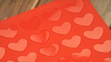 Tabuleiro De Silicone Para Assar Macarron Coração