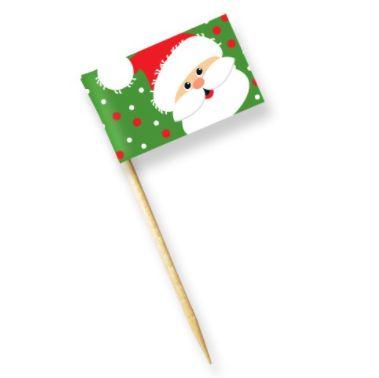 Bandeira - Feliz Natal - Papai Noel (24 unidades)