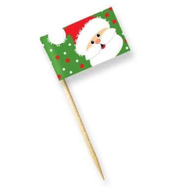 Bandeirinha - Feliz Natal - Papai Noel