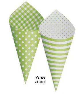 Cone Decorativo Para Festa- Verde Pistache