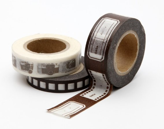 Washi Tape Hollywood - Marrom