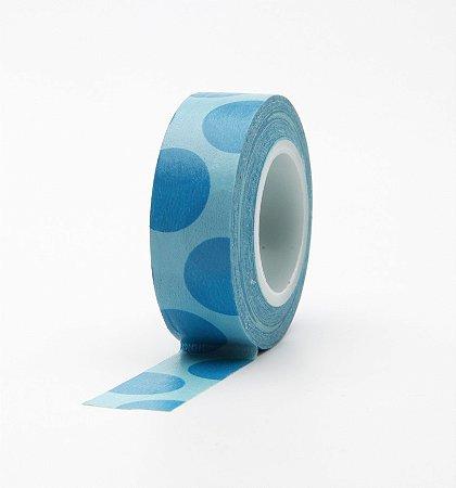 Washi Tape - Bolas Azuis