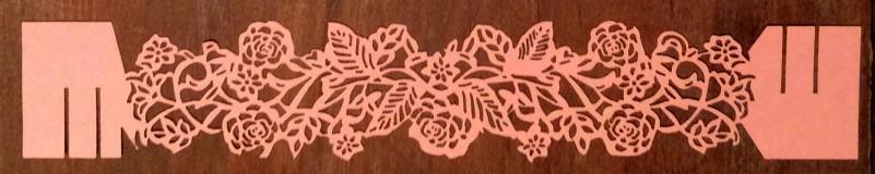 Porta Guardanapos Roses Rosa