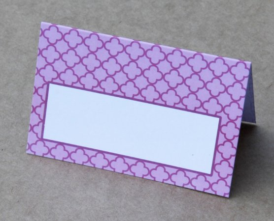 Place Card - Balonê (6 unidades)